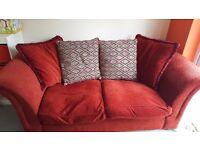Well loved sofa. Free to collect. From pet and smoke free home.