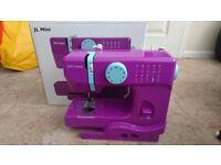 John Lewis JL Mini Junior Sewing Machine (Purple)