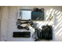 Philips PET 706/7 Portable DVD Player (2 Screens & In-car kit)