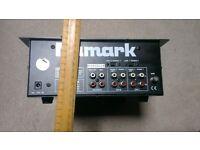 numark pre amp mixer DM1002X dj equiptment used untested no power supply