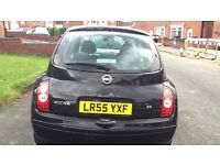 Black Nissan Micra Automatic