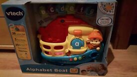 Vtech Alphabet Boat (brand new)