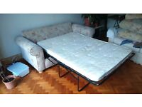 Comfy sofa bed for sale! Good condition, comes from a pet/smoke free home.