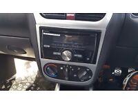 Pioneer Bluetooth USB CD double din