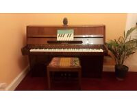 Lenberg Upright Piano with Stool