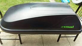 Halfords 250l roof box for sale or rent