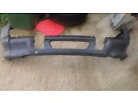 Discovery 300 tdi front bumper lower molding with bumper ends