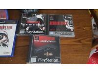 For Sale Sony PlayStation One Resident Evil Games