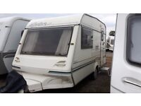 1999 ABI Sprinter 2 berth caravan and accessories