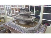 Four Tier Water Fountain