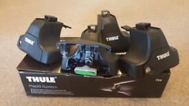 Thule Footpack 754, complete with locks