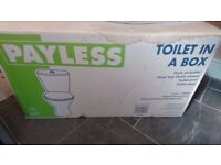 Toilet (in a box), modern