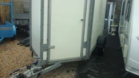 2010 box van trailer in very good condition 10ft x5ft fully galvanised