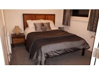 Bedroom furniture set, solid walnut throughout, - See photos, all excellent condition