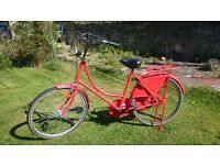 Charming vintage dutch bike (omafiets)