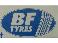New and part worn tyres sales
