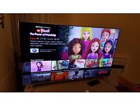 SAMSUNG UE55KS7000 55 inch 4K Quantum Dot Ultra SUHD Premium Smart LED TV Freeview HD & Freesat HD