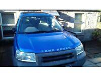 Blue 2001 Landrover Freelander S, manual, petrol, 3 door, 4x4, Sport Hard Top