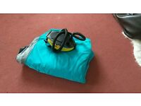 Double airbed and pump