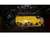 Yellow Honda D16z6 Vtec Rocker Cover D Series