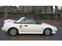 1989 G REG TOYOTA MR2 MK1 1.6 T BAR 105k MILES LEATHER INTERIOR AW11