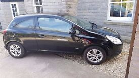 Black Vauxhall Corsa 1.0i 12 V Breeze