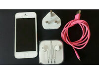Apple iphone 5 16GB official refurb with warranty.