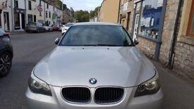 BMW 520D Long MOT 120k Millage silver color perfect runner