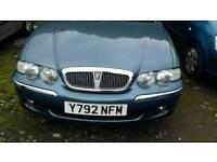 Rover 45 no mot has alloys