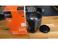 Sony SELP18105G power zoom lens 18 to 105mm