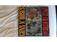 • RARE. GUNS N' ROSES APPETITE FOR DESTRUCTION LP ALBUM VINYL. BANNED COVER. RARE. COLLECTABLE