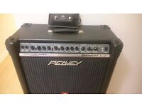Peavey TransTube Bandit 112 Red Stripe with rare extension cab stack
