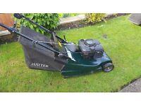 Hayter rear roller mower. Vgc