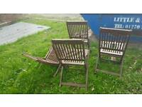 Wooden Chairs 4X for refurbishment