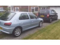 Peugot 306 2.0 hdi 2001 with v5