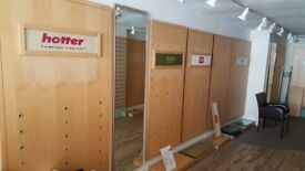 Shop display shelving panels job lot 18nr panels BARGIN