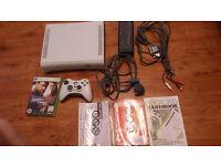 Xbox 360 in box
