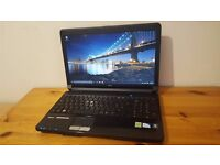"Fujitsu Lifebook AH530, Intel Dual Core, 4GB RAM, 500GB, 15.6"" HD LED, HDMI, Webcam, Good Battery"