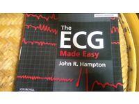 Medical Book- The ECG made easy- John Hampton- Hounslow West