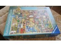 2 Ravensburger Puzzle 1000 pieces