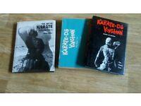 2 x books - the art of karate / karate do kyohan