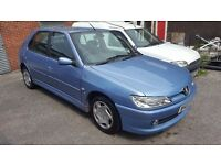 PEUGEOT 306 LX, 1.4, 2000 PLATE (W), 5 DR, CLEAN BODYWORK! ALL MOT'S!