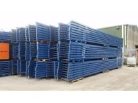 job lot 50 bays , will split , of redirack pallet racking AS NEW( storage , industrial shelving )