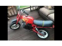 Italijet paddock 50cc motorbike