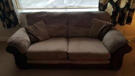3 Seater Sofa chocolate mocha