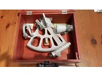 Freiberger Drum Sextant, perfect, with box and paperwork