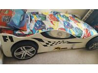 BARGAIN, BEAUTIFUL FORMULA 1 KIDS BED, THE BEST IN THE MARKED, USED, ONLY 89 POUNDS