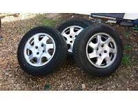 Citroen c5 wills and tires