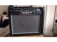 """HIWATT 12"""" guitar combo amp - 40 WATTS, Reverb, 2 ch, - British Sound akin to Orange and Marshall"""