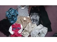 Large job lot of clothes